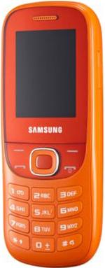 Мобильный телефон Samsung E2202 Metro Orange (GT-E2202 ZOASER) - общий вид