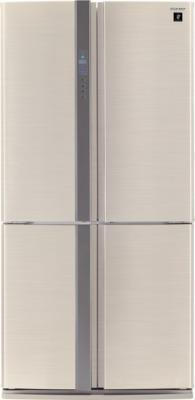 Холодильник с морозильником Sharp SJ-FP97VBE - вид спереди