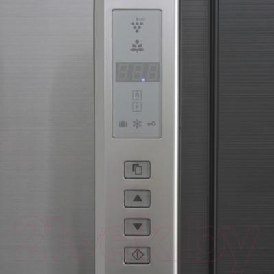Холодильник с морозильником Sharp SJ-FP97VST