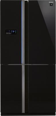 Холодильник с морозильником Sharp SJ-FS97VBK - общий вид