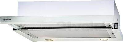 Вытяжка телескопическая Nodor Extender 60 (белое стекло) - общий вид