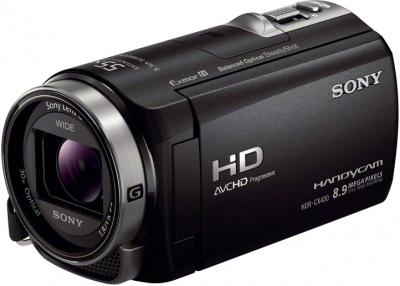 Видеокамера Sony HDR-CX400E Black - общий вид