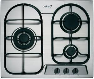 Газовая варочная панель Cata L 603 FTI Inox - общий вид