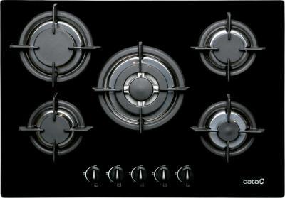 Газовая варочная панель Cata L 705 CI Negra - общий вид