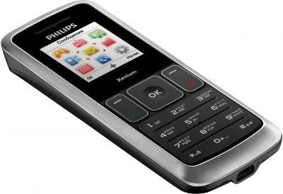 Мобильный телефон Philips X126 - общий вид