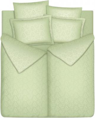Комплект постельного белья Vegas SemK240.260-7J (Нежная оливка) - общий вид
