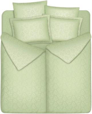 Комплект постельного белья Vegas SemKR180.200-7J (Нежная оливка) - общий вид