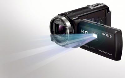 Видеокамера Sony HDR-PJ420E Black - проектор