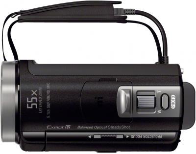Видеокамера Sony HDR-PJ420E Black - вид сверху
