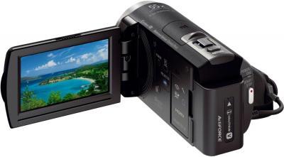 Видеокамера Sony HDR-PJ420E Black - дисплей