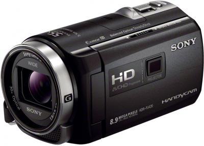 Видеокамера Sony HDR-PJ420E Black - общий вид