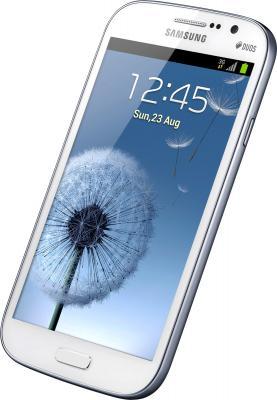 Смартфон Samsung I9082 Galaxy Grand Duos White (GT-I9082 EWASER) - общий вид