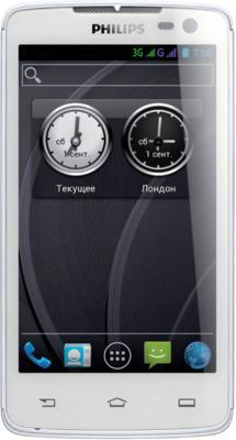 Смартфон Philips Xenium W732 White - общий вид