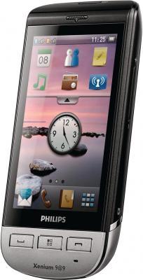 Мобильный телефон Philips Xenium X525 Black - общий вид