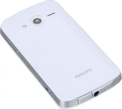 Смартфон Philips W626 White - задняя крышка