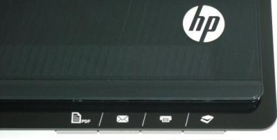 Планшетный сканер HP Scanjet 300 Flatbed Scanner (L2733A) - кнопки управления
