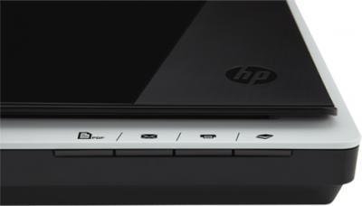 Планшетный сканер HP Scanjet 200 Flatbed Scanner (L2734A) - панель управления