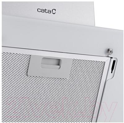 Вытяжка декоративная Cata Ceres 60 (белое стекло)