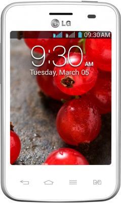 Смартфон LG Optimus L3 II Dual / E435 (белый) - общий вид