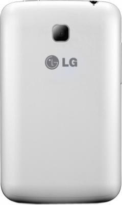 Смартфон LG Optimus L3 II Dual / E435 (белый) - задняя панель