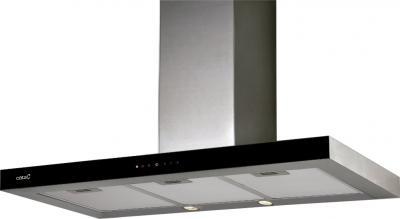Вытяжка Т-образная Cata Midas (90, черное стекло) - общий вид