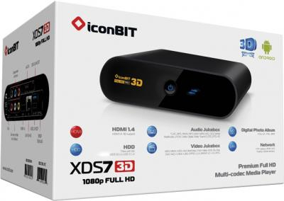 Медиаплеер IconBIT XDS73D - в упаковке