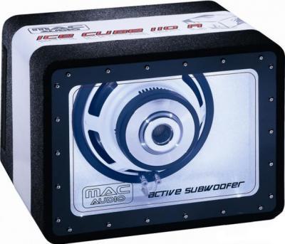 Корпусной активный сабвуфер Mac Audio Ice Cube 110 A - общий вид