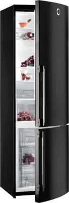 Холодильник с морозильником Gorenje RKV6500SYB2 - общий вид