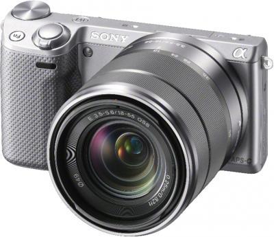 Беззеркальный фотоаппарат Sony NEX-5RYS - общий вид