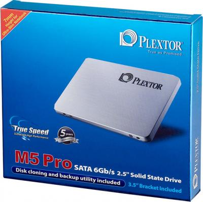 SSD диск Plextor M5 Pro 128GB (PX-128M5P) - коробка