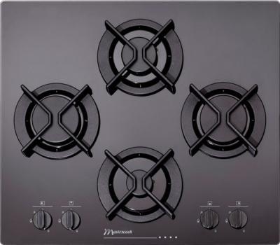 Газовая варочная панель MasterCook 4CMK-4GLS - общий вид