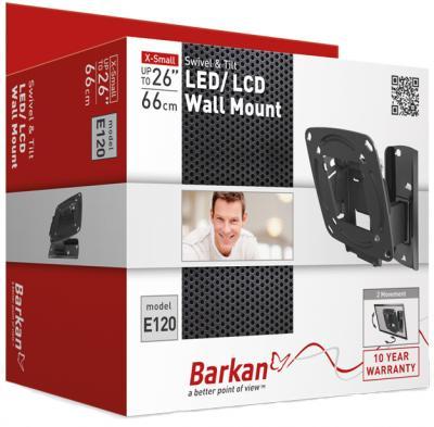 Кронштейн для телевизора Barkan E120.B - упаковка