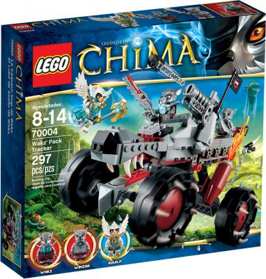 Конструктор Lego Chima Разведчик Вакза (70004) - упаковка