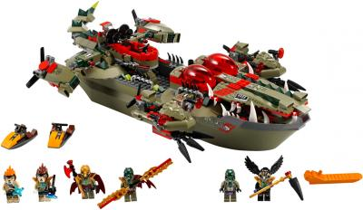 Конструктор Lego Chima Флагманский корабль Краггера (70006) - общий вид