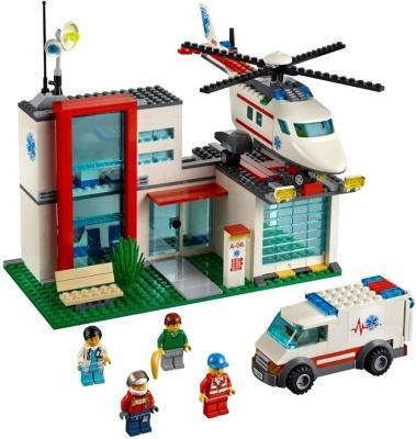 Конструктор Lego City Спасательный вертолёт (4429) - общий вид