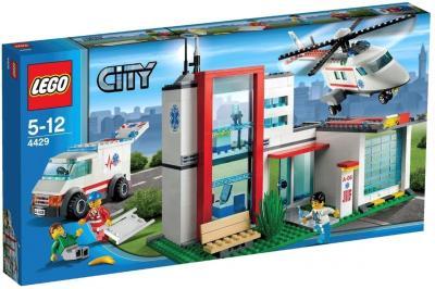 Конструктор Lego City Спасательный вертолёт (4429) - упаковка