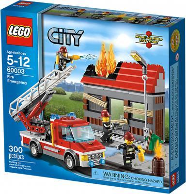 Конструктор Lego City Тушение пожара (60003) - упаковка