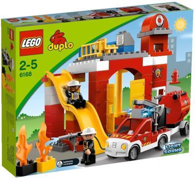 Конструктор Lego Duplo Пожарная станция (6168) - упаковка