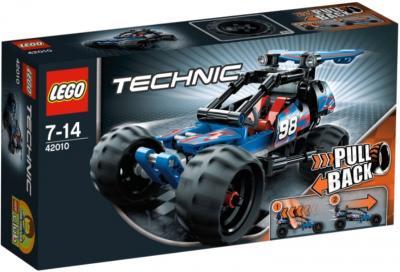 Конструктор Lego Technic Багги с инерционным двигателем (42010) - упаковка