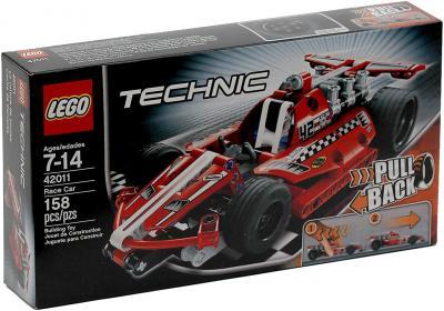Конструктор Lego Technic Карт с инерционным двигателем (42011) - упаковка