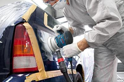 Профессиональная эксцентриковая шлифмашина Bosch GEX 125-150 AVE (0.601.37B.101)