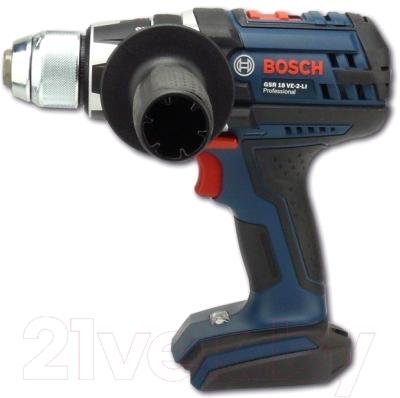 Профессиональная дрель-шуруповерт Bosch GSR 18 VE-2-LI Professional (0.601.865.302)