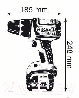 Профессиональная дрель-шуруповерт Bosch GSR 14.4 V-LI Professional (0.601.866.00E)