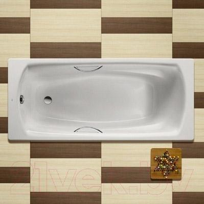 Ванна стальная Roca Swing 170x75 (с ножками, без ручек)