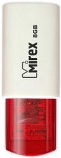 Usb flash накопитель Mirex Click Red 8GB (13600-FMURDC08)