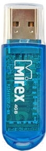 Usb flash накопитель Mirex Elf Blue 4GB (13600-FMUBLE04)