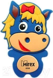 Usb flash накопитель Mirex Horse Blue 8GB (13600-KIDBHS08)