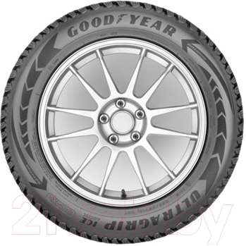 Зимняя шина Goodyear UltraGrip Ice Arctic SUV 235/65R17 108T (шипы)