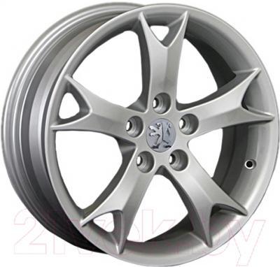"""Литой диск Replay Peugeot PG41 16x6.5"""" 5x114.3мм DIA 67.1мм ET 38мм S"""