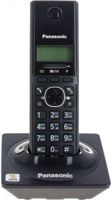 Беспроводной телефон Panasonic KX-TG1711CAB (черный)